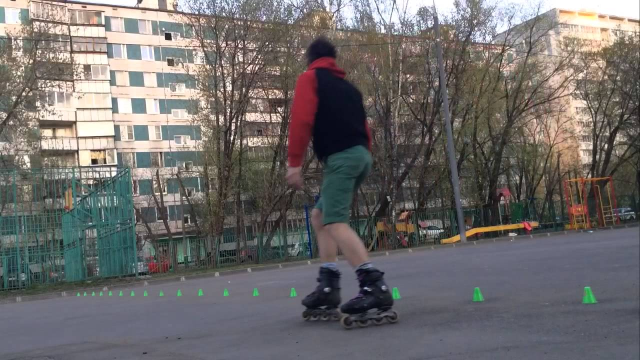 Rollershop Tv Sessel Tom Freestyle Slalom Training Youtube