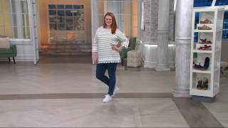 PUMA Leather or Suede Platform Sneakers - Vikky Platform on QVC