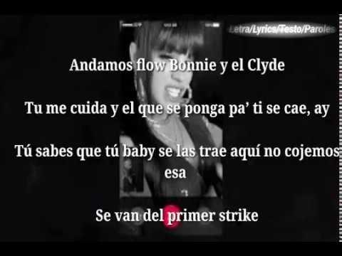 Cosculluela & Natti Natasha - Bonnie & Clyde (Letra/Lyrics)