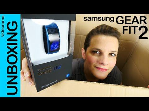 Samsung Gear Fit 2 unboxing en español | 4K UHD