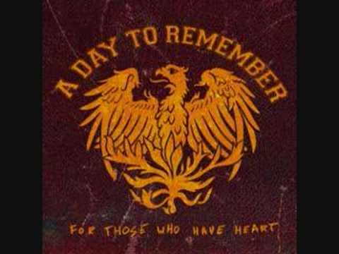 A day to remember  You should have killed me when you had