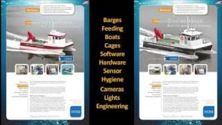 ENG: Boats: Ocea catamaran workboats for aquaculture and fishfarming