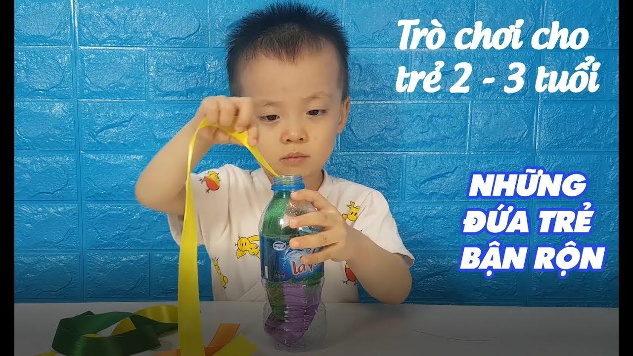 Những trò chơi cho trẻ lứa tuổi 2 – 3