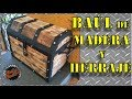 DIY|Como hacer un Cofre/Baúl de Madera y Herraje paso a paso.