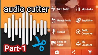 #Audio mp3 cutter and ringtone maker app, basic tutorial#ring tone making# audio cutter. screenshot 2