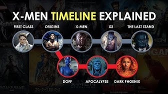 X-Men: Full Movie Timeline Finally Explained: Entire Chronological Order: First Class - Dark Phoenix