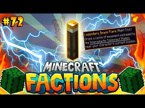 SPAWNING *NEW* LEGENDARY COSMIC FLARE! | Minecraft Cosmic PVP Factions #72