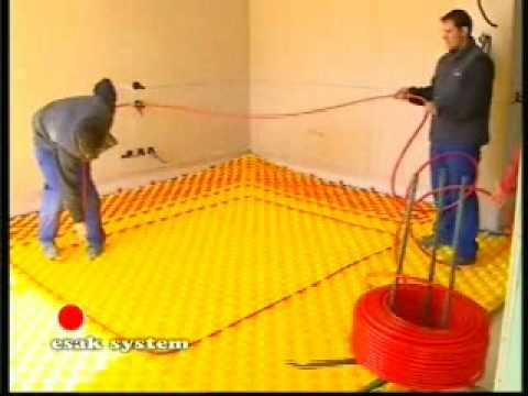 Suelo radiante esak dise o e instalacion youtube - Instalacion de suelo radiante por agua ...