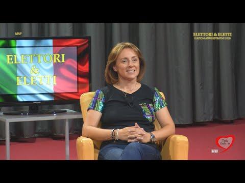 Elettori & Eletti 2020: Giovanna Bruno, candidata sindaco centrosinistra Andria 25/09/2020
