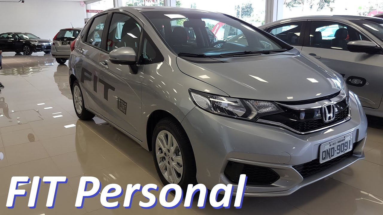 Fit Personal 1.5 CVT 2018 para PCD - YouTube