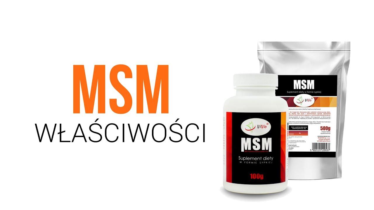 Download MSM - właściwości