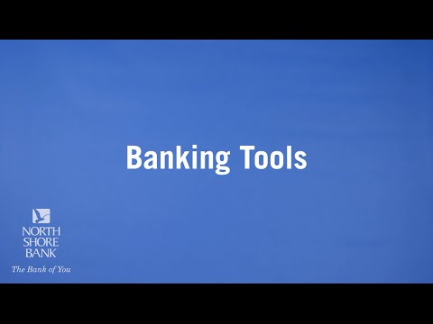 Banking Tools For Easier Money Management