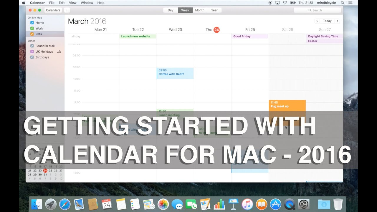 how to delete calendar on mac