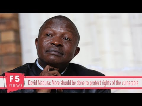 David Mabuza: More should be done to protect rights of the vulnerable