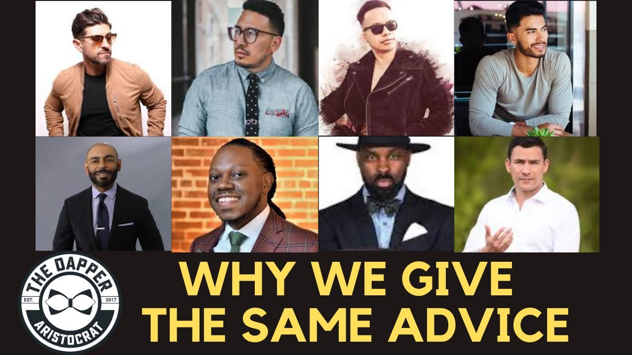 Men's Style YouTubers Give the Same Tips | Dapper Rant Episode 3