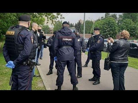 В Москве задержали Сергея Удальцова у Дома Правительства РФ / LIVE 20.05.20