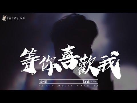 姜鵬Calm - 等你喜歡我『想和你譜寫余生的故事 ,我等你,等你喜歡我』【中文動態歌Lyrics】