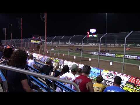 Lucas Oil Speedway MLRA Late Model Heat 4 9/2/17