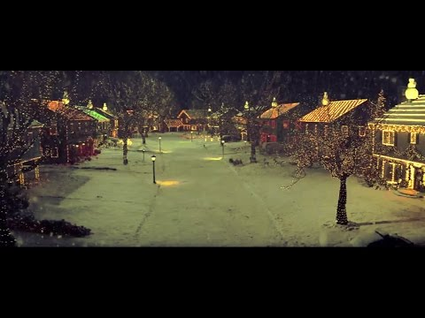 [10 Hours] Christmas in Suburbia Video & Audio Sleigh Bells [1080HD] SlowTV