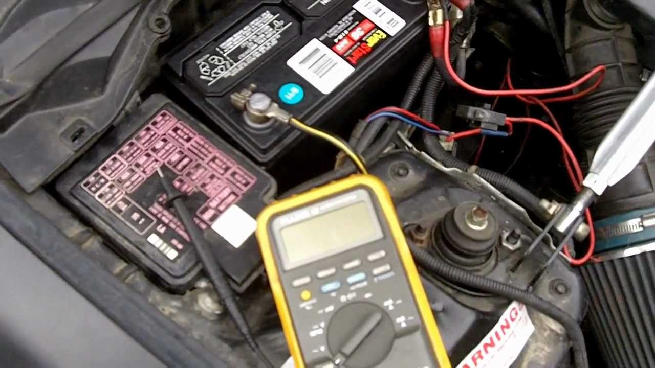 2006 Buick Lucerne >> How to fix: Car battery keeps dying - YouTube