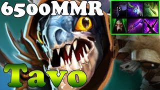Dota 2 - Tavo 6500MMR Plays Slark - Ranked Match Gameplay
