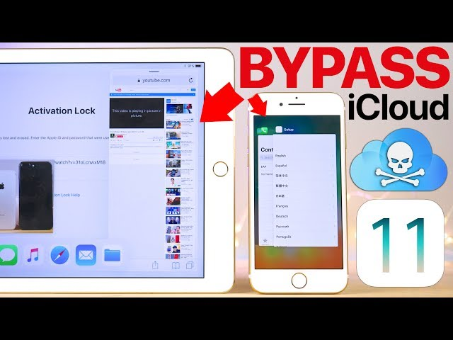 iOS 11 Flaw: Bypass iCloud Activation Lock on iPhone & iPad