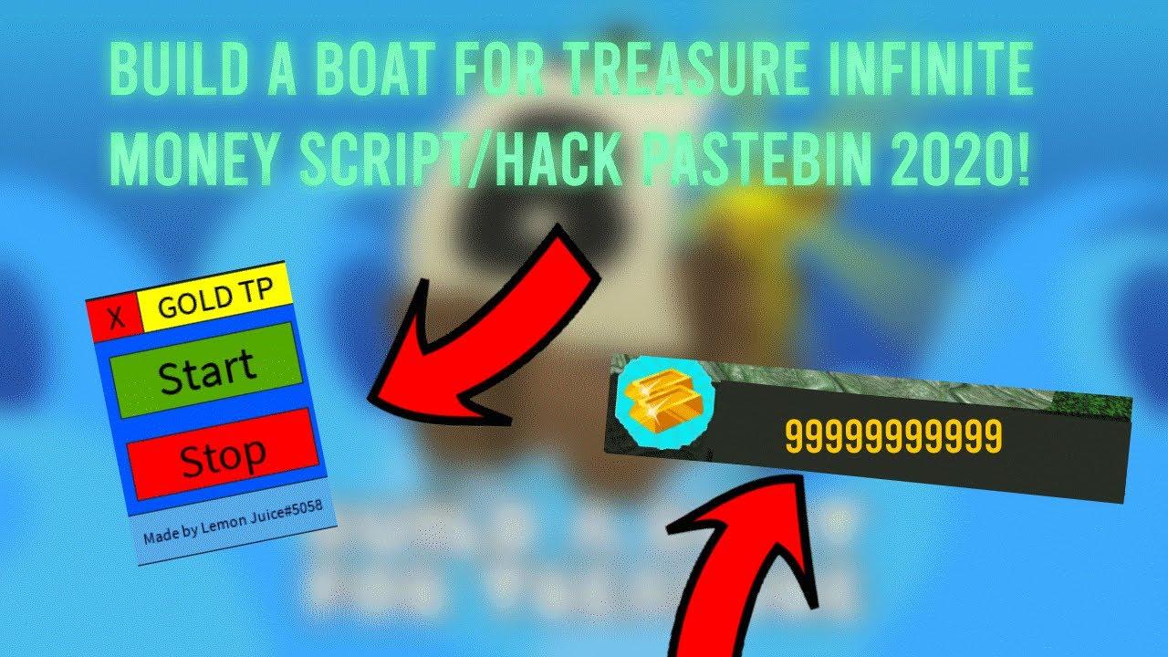 Op Build A Boat For Treasure Infinite Money Script Pastebin 2020