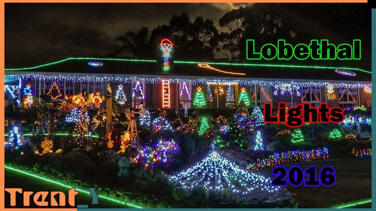 Lobethal Lights 2016 - Merry Christmas! - YouTube