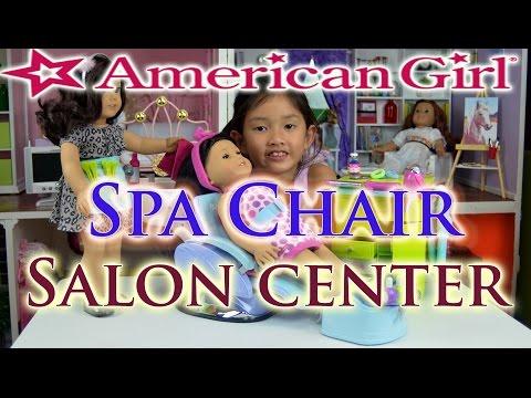 American Girl Spa Chair & Salon Center