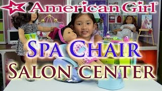 American Girl Spa Chair & Salon Center