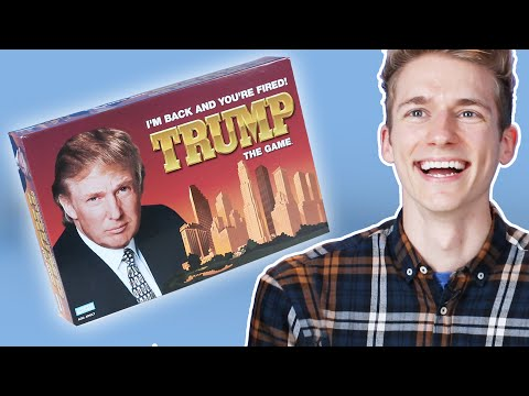 Thumbnail: Board Game Lovers Play The Trump Board Game