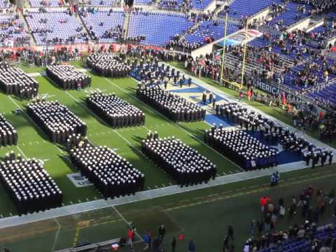 """Navy """"March ON"""" 2016 Army--Navy Game in Baltimore"""