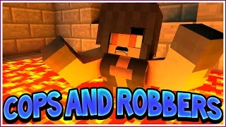 The Floor is LAVA! | Minecraft Cops and Robbers