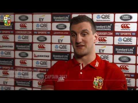 British & Irish Lions captain Sam Warburton | All For One