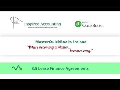 8.5 QuickBooks  2017 Lease Finance Agreements