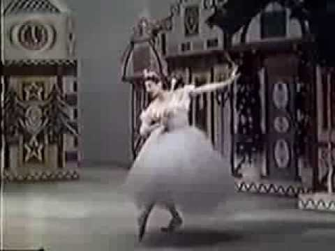 "SUGAR PLUM FAIRY ""Variation""  Diana Adams (1958 in a shortened version for television)"