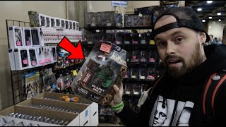 TOY HUNTING AT THE BIGGEST TOY SHOW IN OHIO! RARE MARVEL LEGENDS,MYTHIC LEGION HAUL AND LOTS OF TOYS