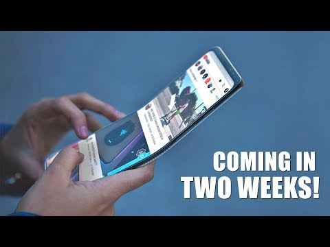 Samsung Teases The Foldable Smartphone Mp3
