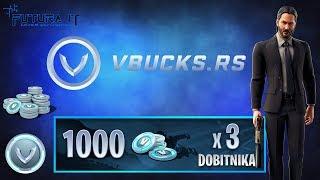 REGISTRATION pour le TOURNAMENT 3000 V-Bucksa/SPONSOR @vbucks. RS-#Fortnite #Balkan #Live