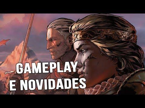 GAMEPLAY DO NOVO THE WITCHER LIBERADO E MAIS! - THRONEBREAKER: THE WITCHER TALES thumbnail