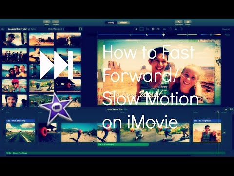 How To Fast Forward And Slow Motion On IMovie 10.0.5