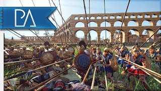 I FELL INTO A TRAP! FIGHTING MY WAY OUT! - 3v3 Siege - Total War: Rome 2