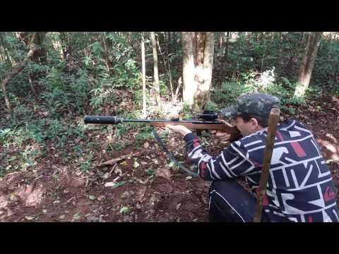 cbc 8022 tiro certeiro a 40 metros com moderador ,muniçao standart