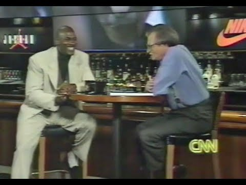 Michael Jordan - Larry King Live (first interview post-1993 retirement)