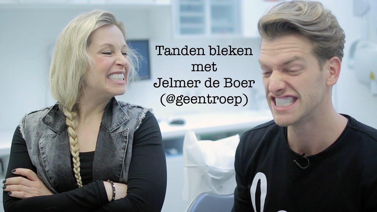 Tanden bleken met jelmer de boer geentroep furrow nl for Jelmer de boer