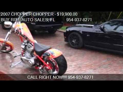 2007 CHOPPER CHOPPER - for sale in FT LAUDERDALE, FL 33304