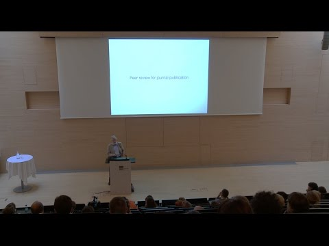 "Lecture: ""Peer Review – limitations, future development, alternatives"" by Jan Velterop"