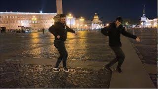 Парни Танцуют Круто В Центре Санкт Петербурга 2019 Лезгинка Салам Алейкум Братьям  ALISHKA DATO
