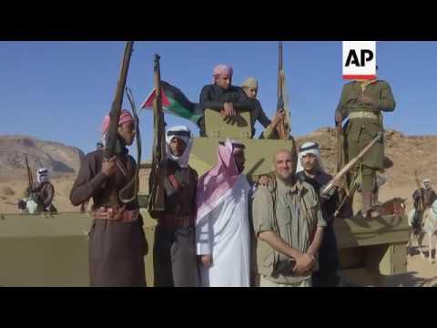 Actors recreate Great Arab Revolt