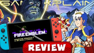 Fire Emblem: Shadow Dragon - REVIEW (Switch   Marth's Origin Story!) (Video Game Video Review)
